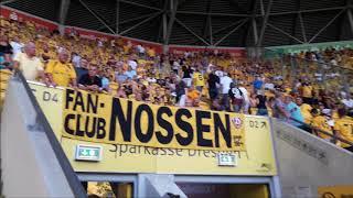 SG Dynamo Dresden gegen MSV Duisburg - Stimmung, Choreo und Fans