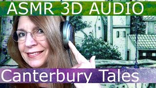 ASMR AUDIO Whispers - CHAUCER Canterbury Tales Prologue! Use Headphones! 3D Sound Sprig Barton