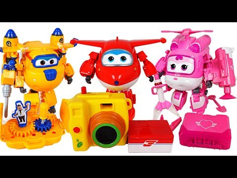 Animal friends were caught by villains! Upgrade Super Wings rescue armor complete! - DuDuPopTOY