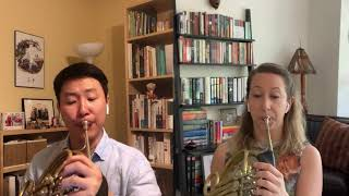 Carmen Suite for Two Horns - Bizet, arr. Humphries