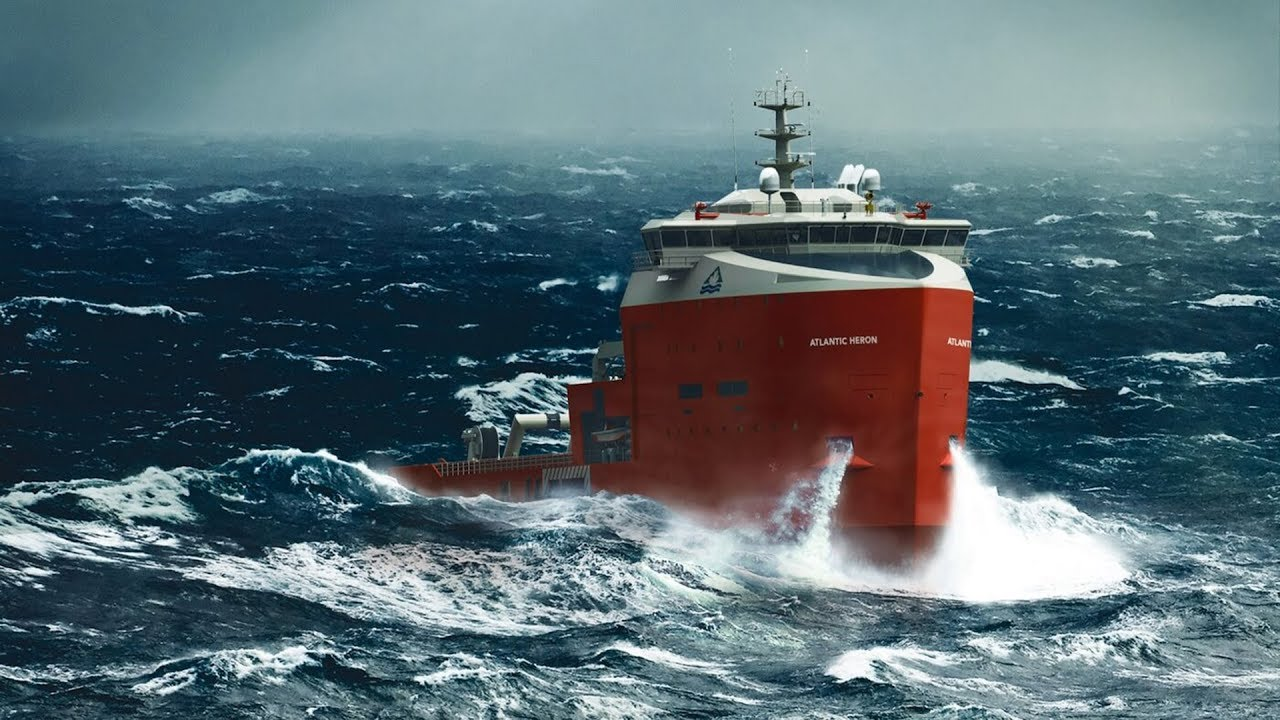 The Bulls Of The Seas: Platform Supply Vessels