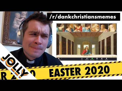 British Priest Reviews Easter Memes (QUARANTINE EDITION!)