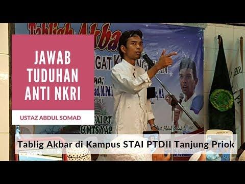 Ustaz Abdul Somad-Membakar Semangat Mahasiswa Perguruan Tinggi Dakwah Islam Indonesia  (PTDII)