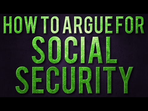 How to Argue for Social Security