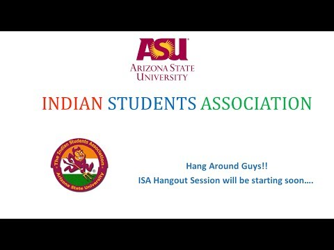 ISA Hangouts Session - Fall 2014