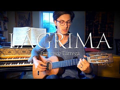 Lágrima_On Original 19th Century Guitar