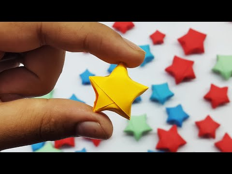 How to Make Lucky Origami Stars | Paper Star Tutorial