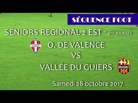 2017 10 28 43 Séquence Foot Olympique Valence Vallée du Guiers