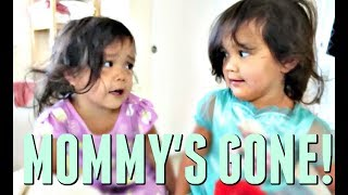 MOMMY'S GONE... AGAIN?! - July 06, 2017 -  ItsJudysLife Vlogs