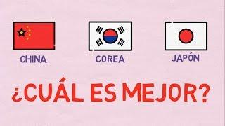 China, Corea o Japón, ¿cuál es mejor?
