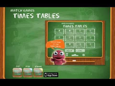 Learn Times Tables - iPad & iPhone application.
