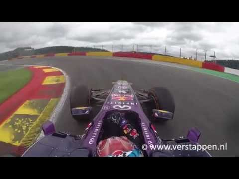 Max Verstappen - Run 2: RB8 Onboard Exclusive Footage, WSR Spa-Franchorchamps, 31/05/2015