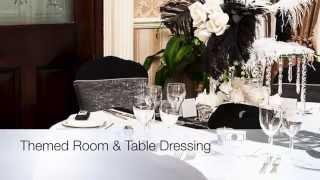 Purelite Weddings, Room Dressing & Stationery