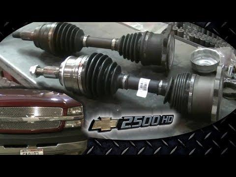 04 Silverado 2500HD CV Axle Replacement