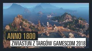 ANNO 1800 ZWIASTUN Z TARGÓW GAMESCOM 2018