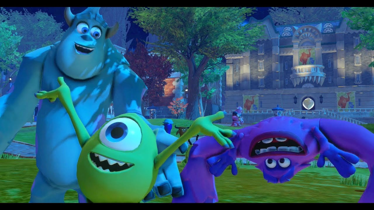 Disney Infinity - Monsters University Play Set - Part 13 ...