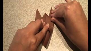 Оригами для детей - пальчиковые куклы