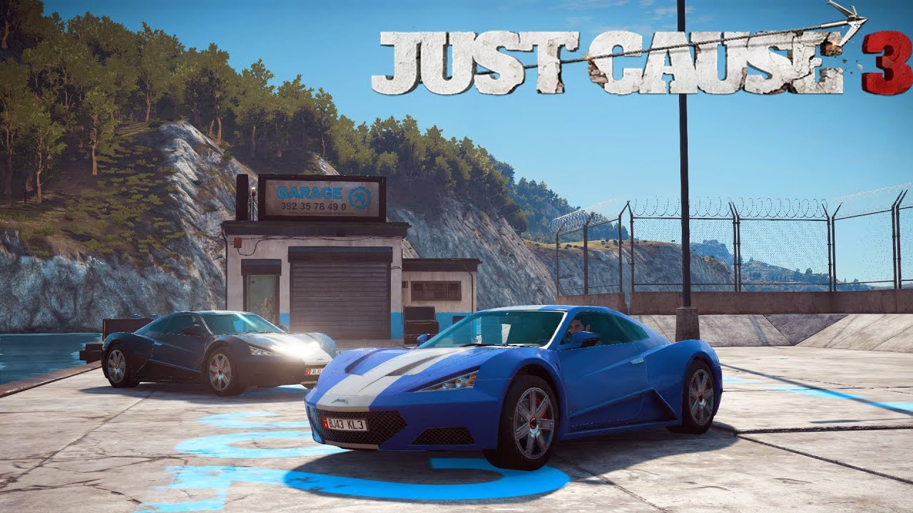 Just Cause 3 Autos