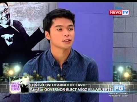Tonight with Arnold Clavio: Mainit na Q&A with CamSur Governor-elect Migz  Villafuerte