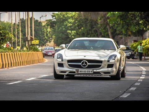 Mercedes Benz SLS/// AMG in Mumbai/ India 2016