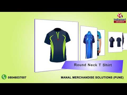 Corporate and Sports T Shirt by Manal Merchandise Solutions, Pune