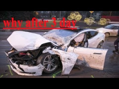 I Crashed My New Tesla Model 3 After 3 Days