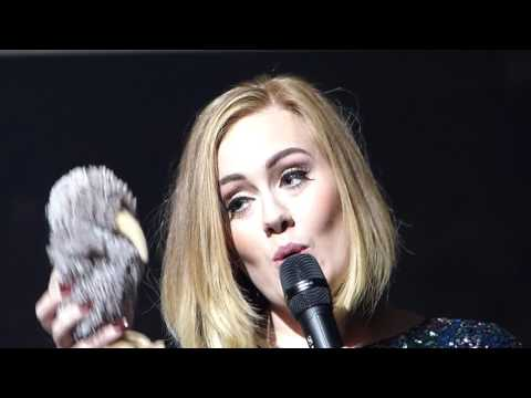 Adele - Chasing Pavements and Adelfie funny banter - Answers back to San Jose critics