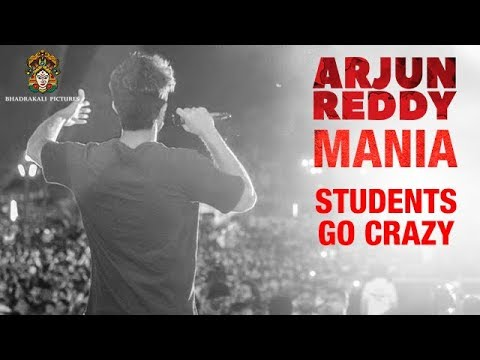 Arjun Reddy Movie Mania | Students Go Crazy - Hungama at Colleges in Hyderabad | Vijay Devarakonda
