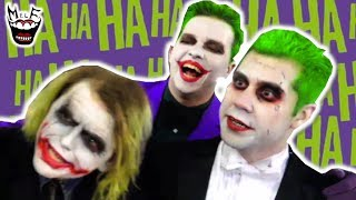 Batman: 3 Jokers in Real Life! Funny Superhero Movie