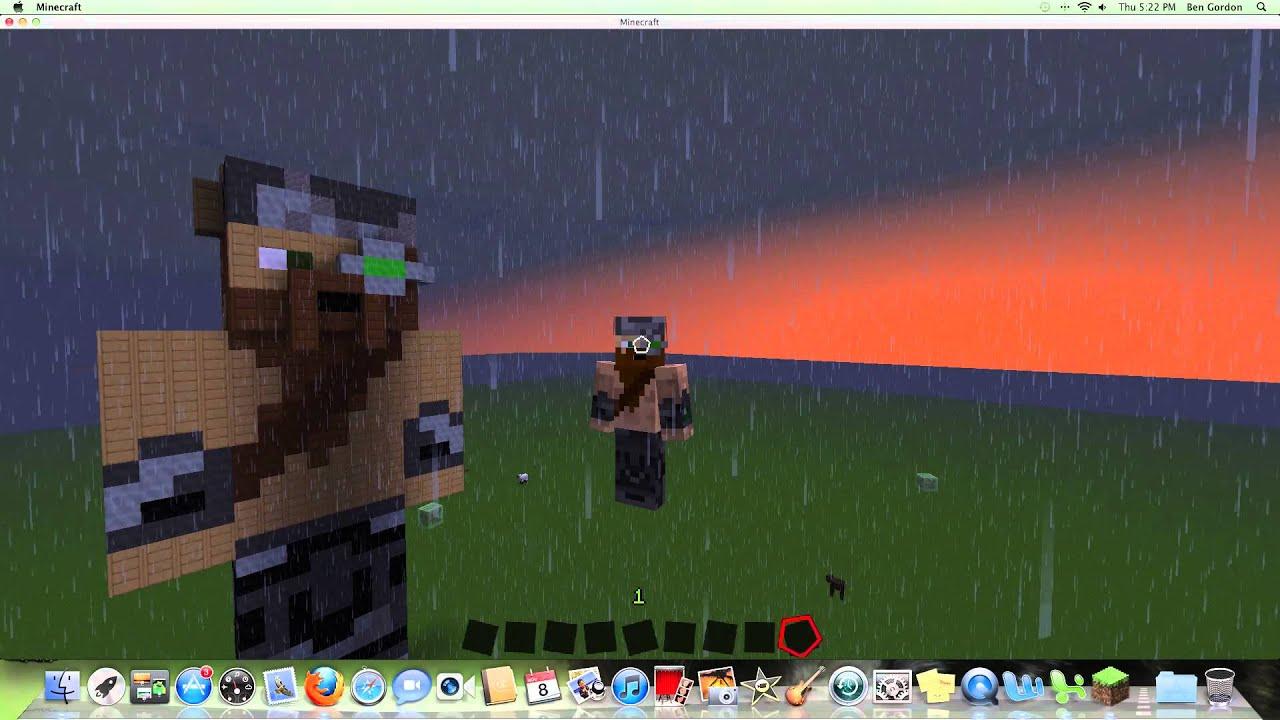 Minecraft: My NEW Viking Skin & Pixel Art - YouTube