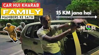 Two Lady 🙋♀️ stuck on highway😰 At Night | Bakra Eid Day | NCR Bikerz |