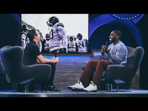 Chicago Bears Linebacker Sam Acho interviewed by Steve Carter at Willow Creek Community Church