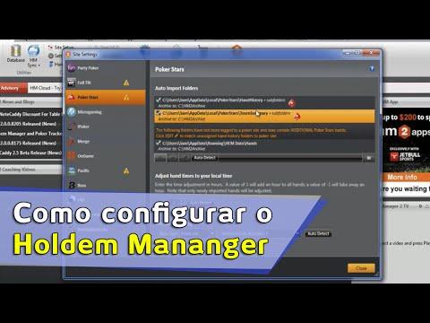 Tutorial: Como configurar o holdem mananger | Conhecendo o HM2.