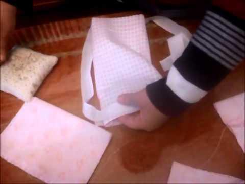 6099f3936 Como hacer fundas para biberones, chupetes,toallitas.... - YouTube