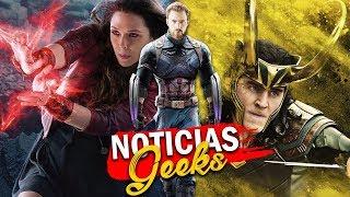 ¡CONFIRMADO! Loki y Scarlet Witch tendrán su propia serie de MARVEL, Capitana revela nuevas cosas