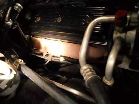 New Ford Bronco >> New plugs for the exhaust manifold ; Air pump delete - YouTube