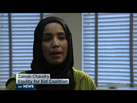 WATCH: Australian TV Interviews CAIR's Zainab Chaudry About Maryland School Eid Holiday Request