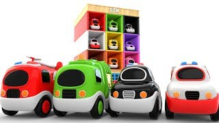 Car Parking Videos for Children - Fun Learning Colors for KIDS