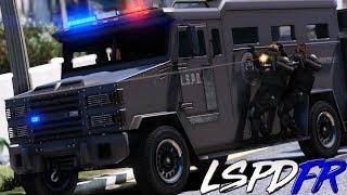 GTA 5 LSPDFR #209 SWAT ESTADOS UNIDOS - ENFRENTAMIENTO Y CATEOS  | TheAxelGamer