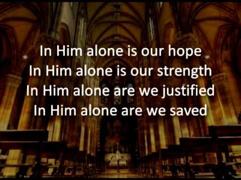 In Him Alone (keyboard Instrumental)