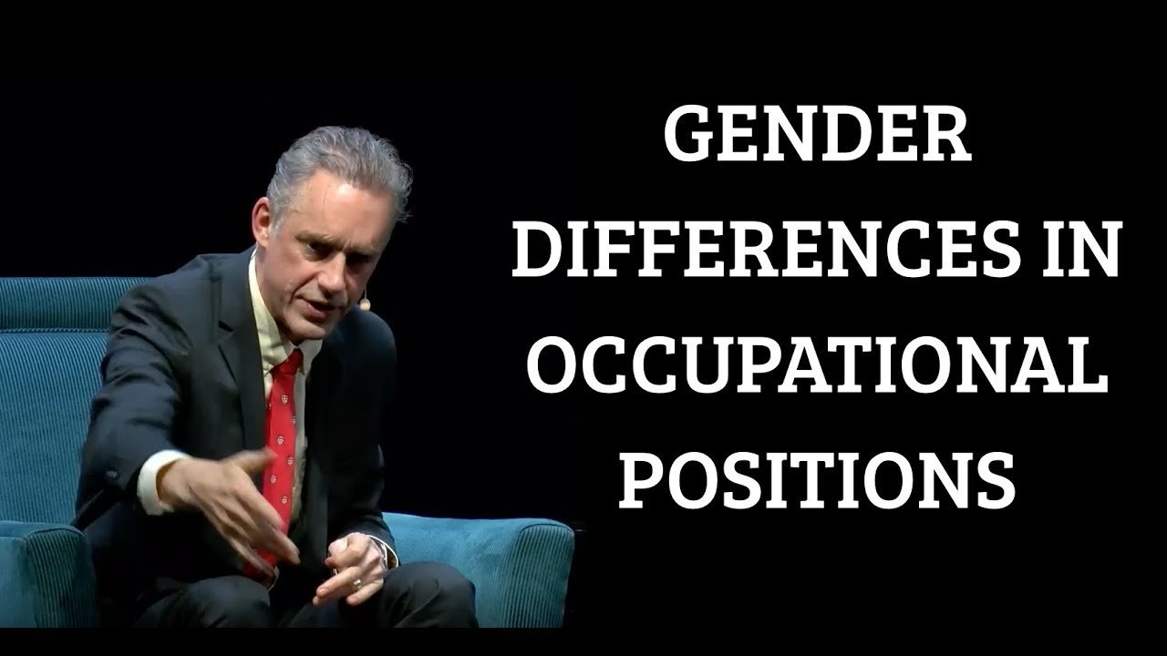 tapa Significativo Separar  Jordan Peterson | Gender Differences in Occupational Positions - YouTube