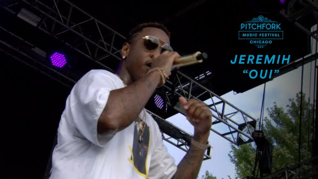 "Jeremih performs ""Oui"" | Pitchfork Music Festival 2016 ..."