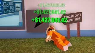 this jailbreak glitch gives too much cash.. (Roblox Jailbreak)