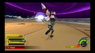 Kingdom Hearts Birth by sleep Final mix: VS Trinity armor