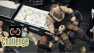 WWE action Figure Set up - Wrestling Hero Figz Challenge