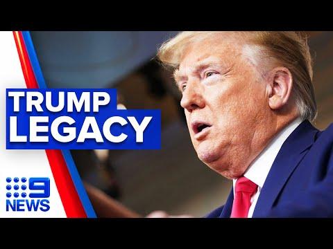 A look back at the Trump presidency | 9 News Australia thumbnail