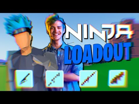 So I Copied NINJA's LOADOUT...*OP* (Strucid Roblox)