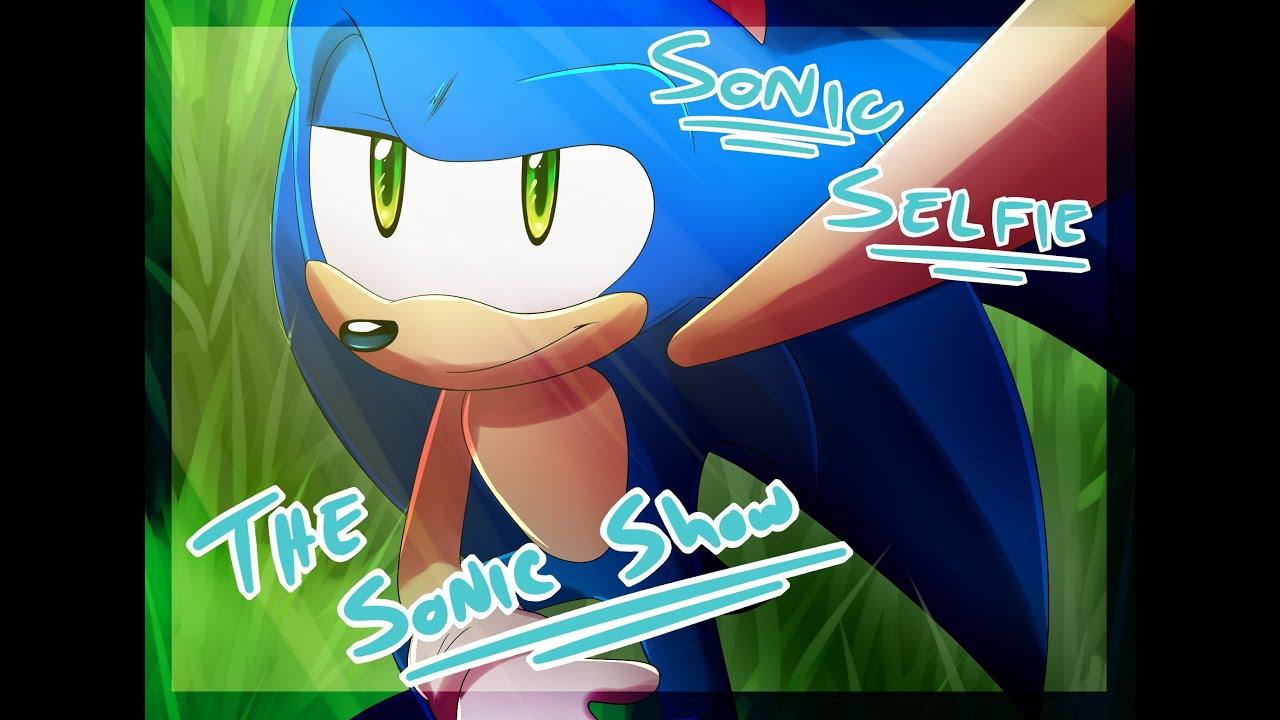 Sonic Selfie Speedpaint Youtube