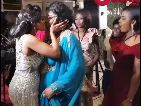 Small Doctor Sings As Iyabo Ojo &Her Mum Kissed Eachother &Dances At Her 40th Birthday Party