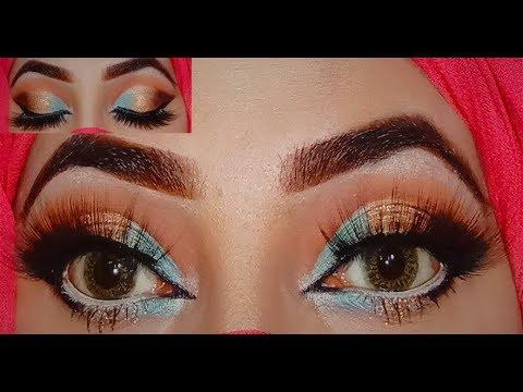 wedding-guest-makeup-tutorial-by-tania-/-affordable-brands-/beginners-/-urdu-hindi/